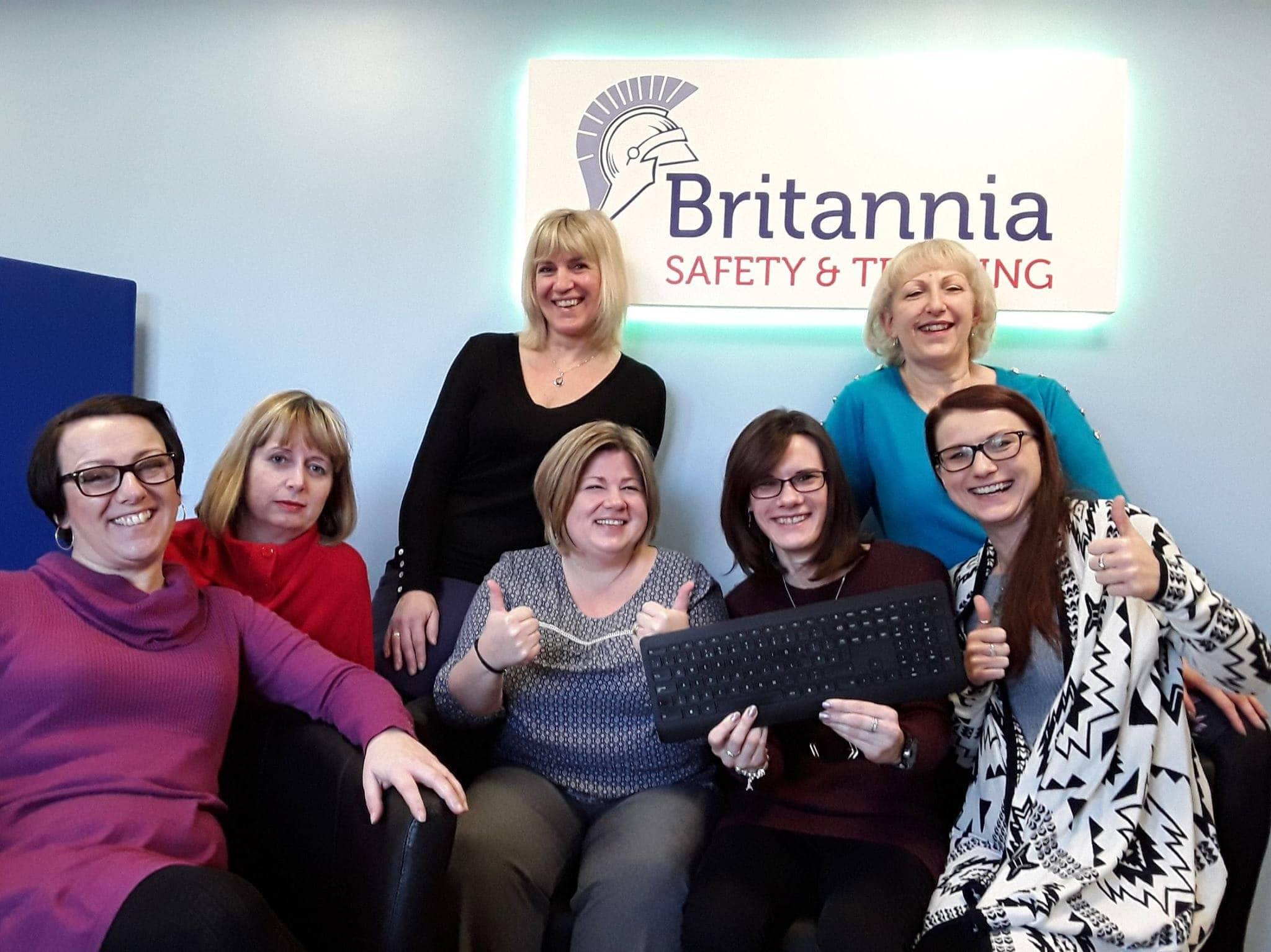 Britannia's official website launch