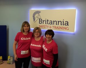 Britannia girls take on 10K run for charity Training Courses Norwich & Norfolk