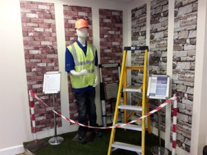 June reception display promotes The Ladder Association Training Courses Norwich & Norfolk