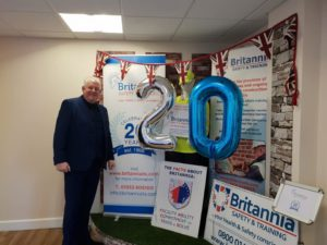 Celebrating 20 years at Britannia Training Courses Norwich & Norfolk