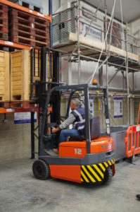 Forklift training with Britannia Training Courses Norwich & Norfolk