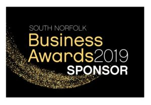 Category Sponsor of Business Awards in South Norfolk Training Courses Norwich & Norfolk