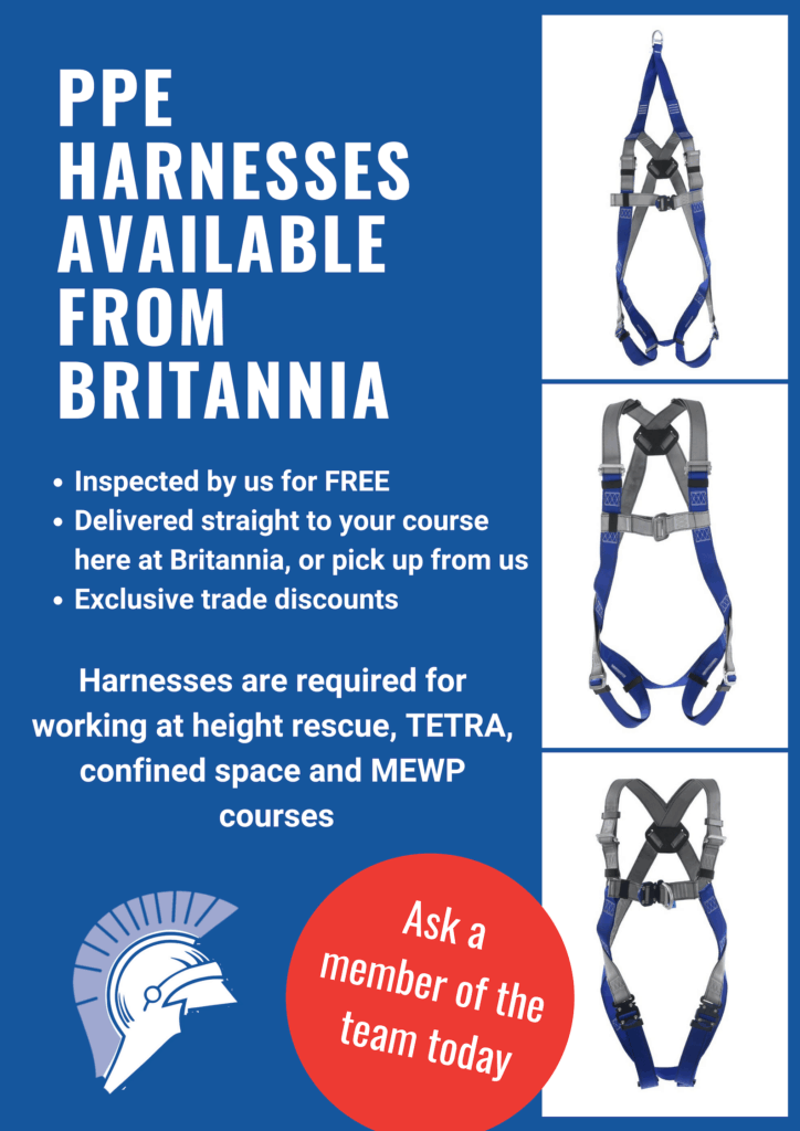 Britannia for harnesses and advice Training Courses Norwich & Norfolk